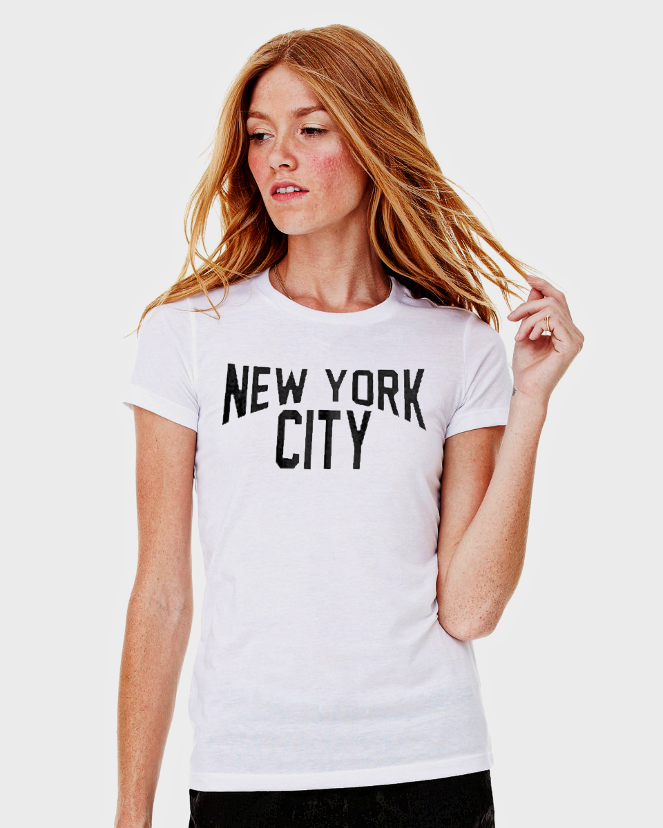 Ladies New York City T Shirt Reverb Clothing