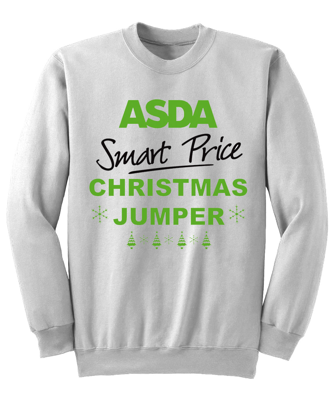 Asda smart price funny christmas jumper sweatshirt new s for Smart price