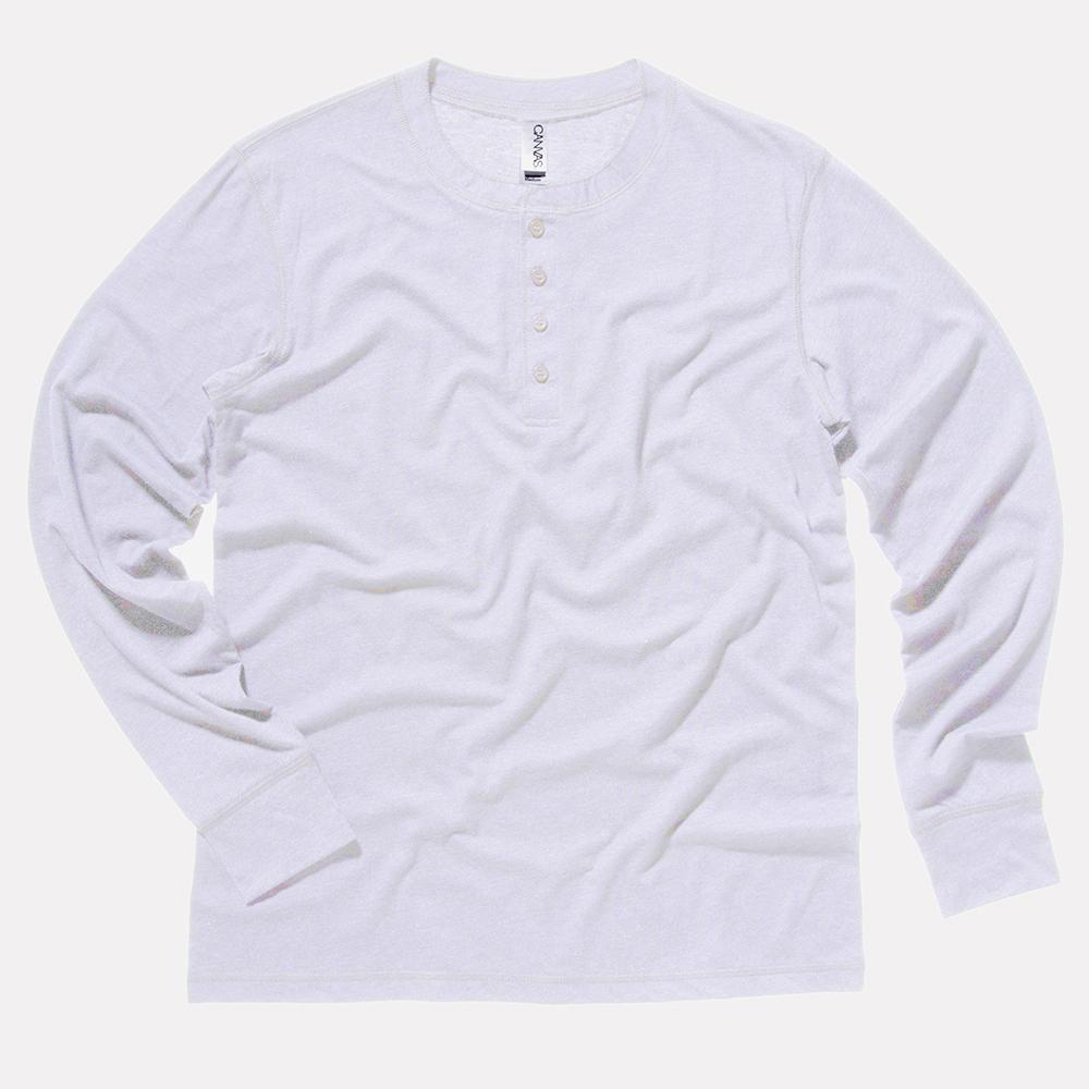 1a3d1b8c Bella+Canvas long sleeve henley Jersey | Reverb Clothing