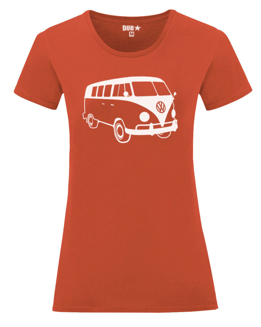 VW T1 ladyfit - flame orange