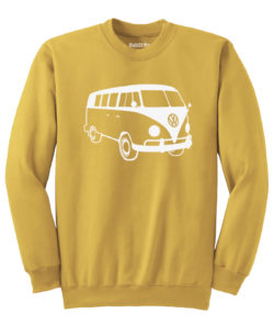 VW T1 Sweater - gold