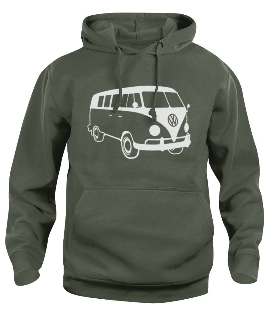 vw t1 - army green