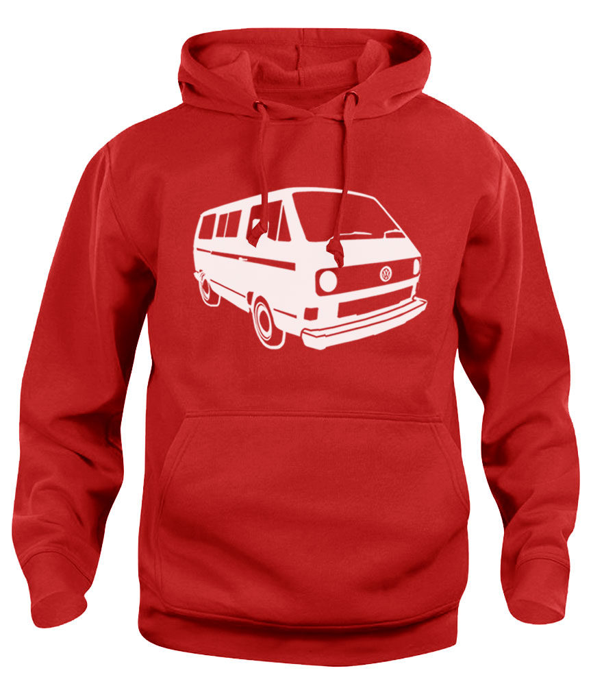 vw t3 - red