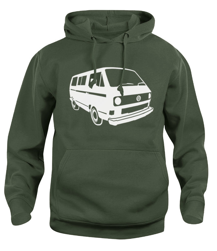 vw t3 - army green