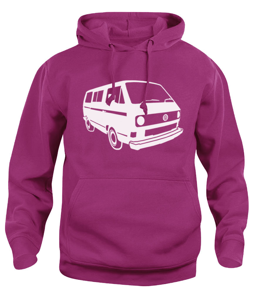 vw t3 - heliconia pink