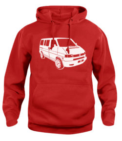vw t4 - red
