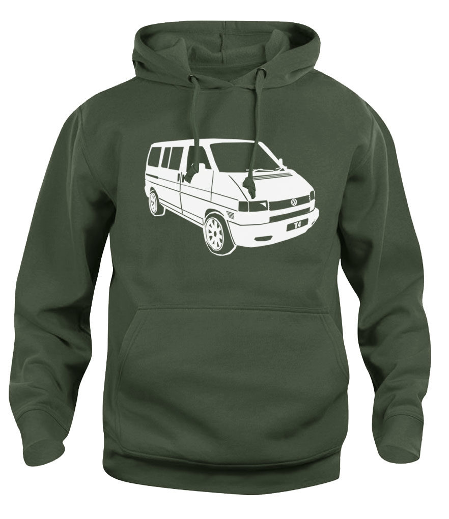 vw t4 - army green