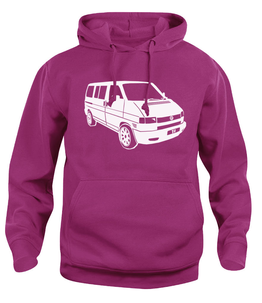 vw t4 - heliconia pink