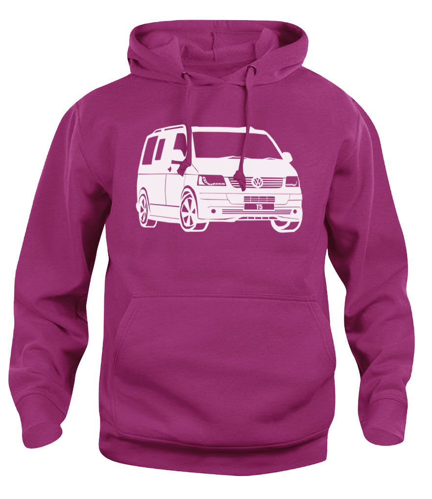 vw t5 - heliconia pink