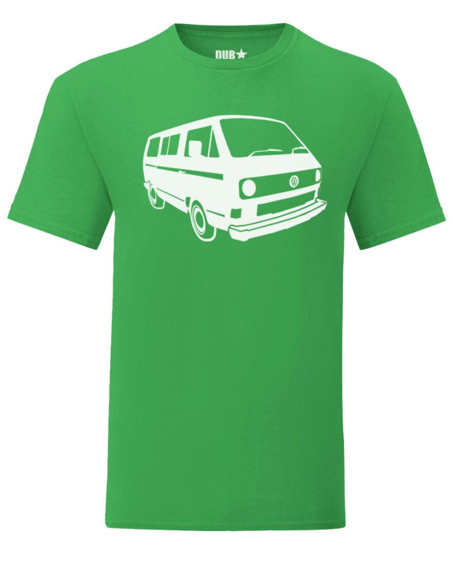 vw t3 tee - green