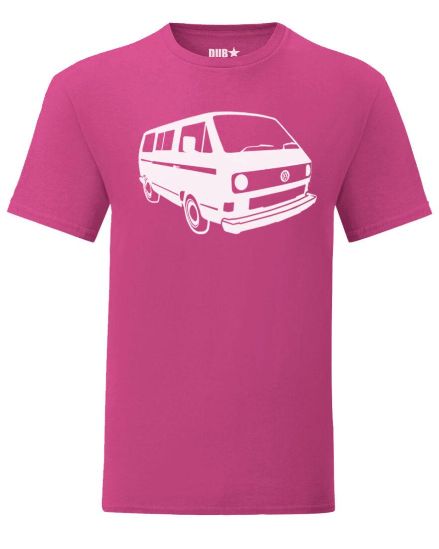 vw t3 tee - pink