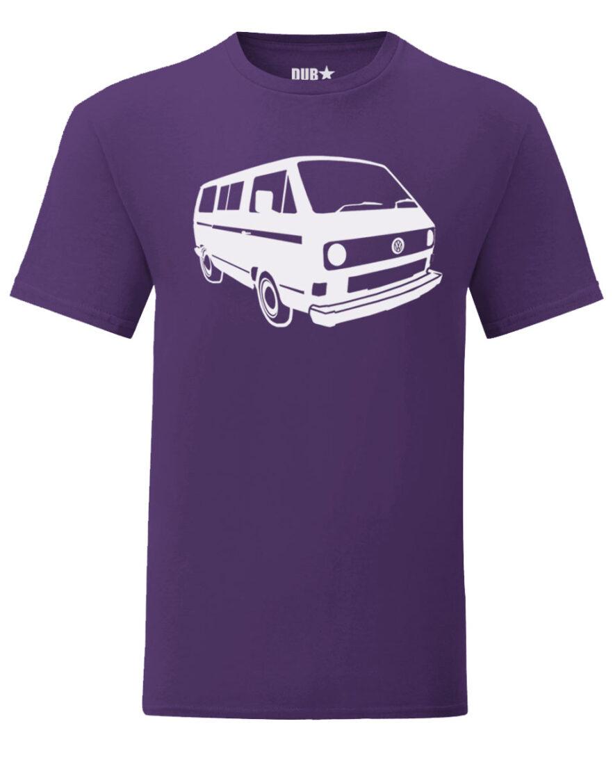 vw t3 tee - purple