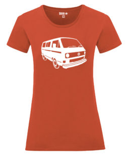 VW T25 ladyfit - flame orange