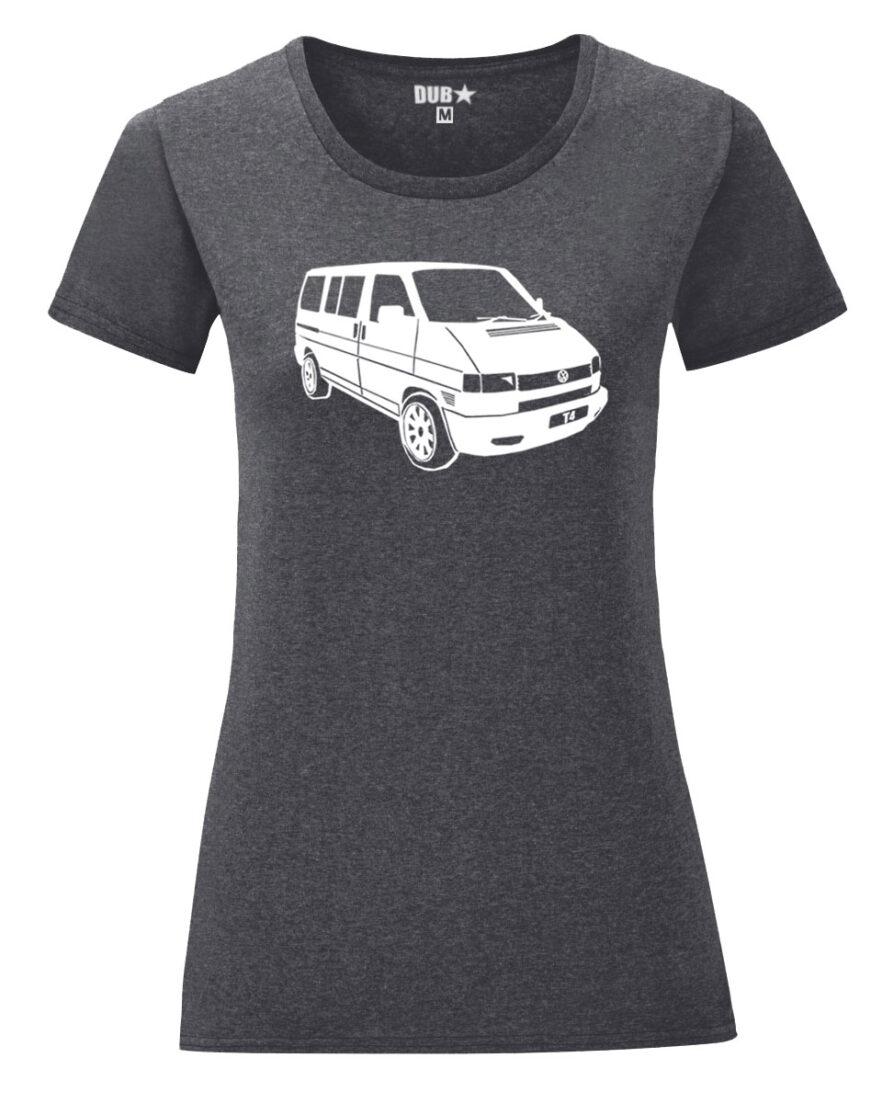 VW T4 ladyfit - dark heather