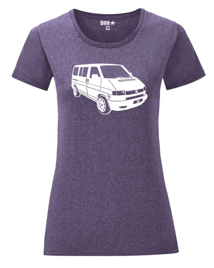 VW T4 ladyfit - heather purple