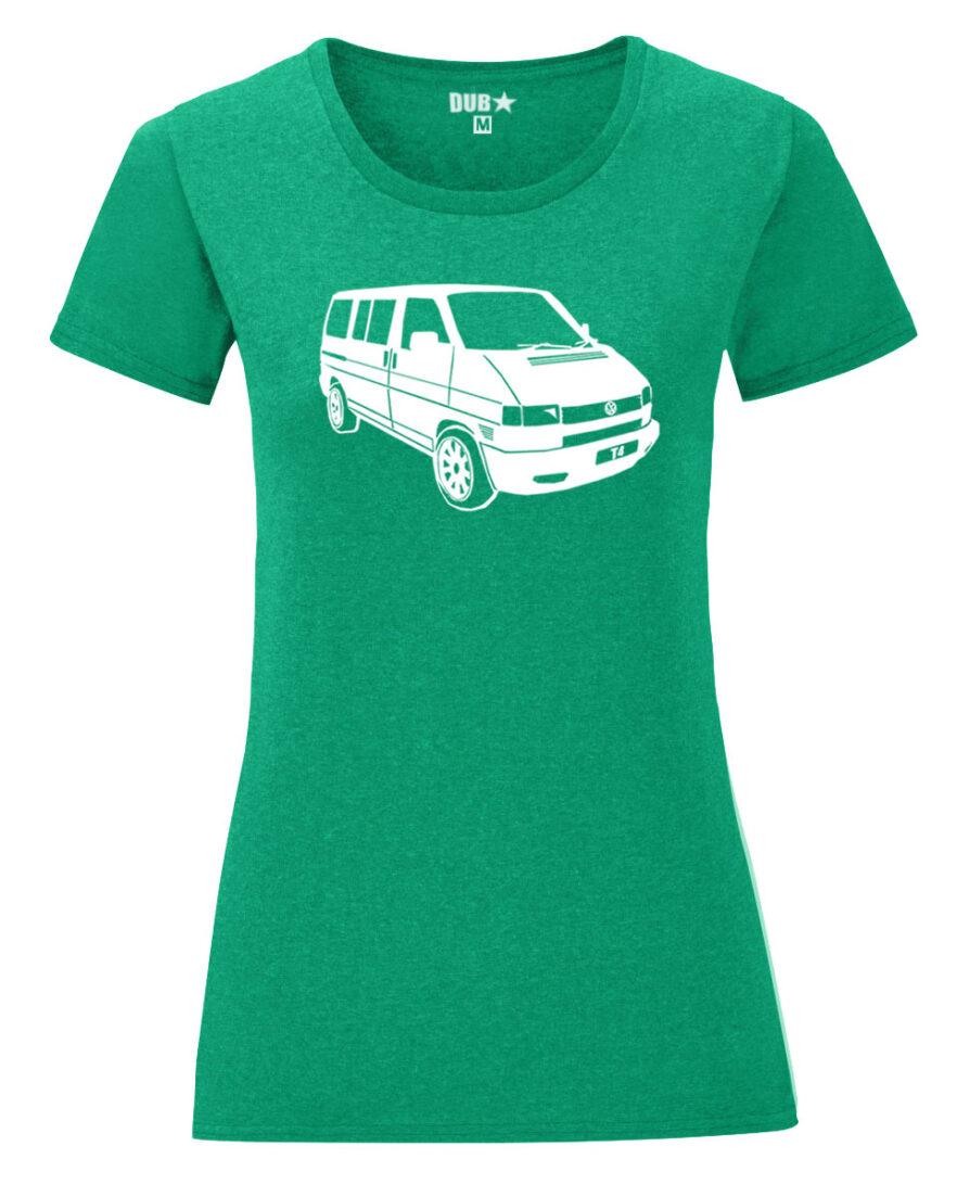 VW T4 ladyfit - heather green