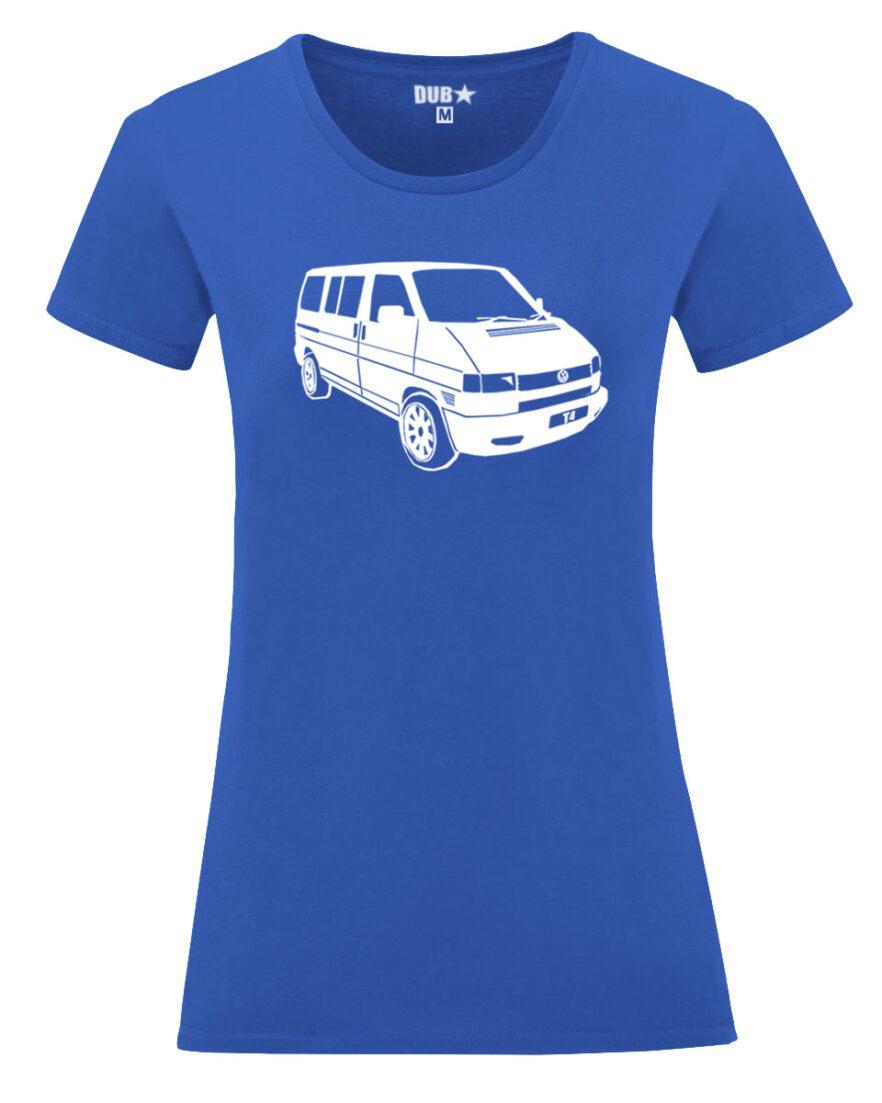 VW T4 ladyfit - royal blue