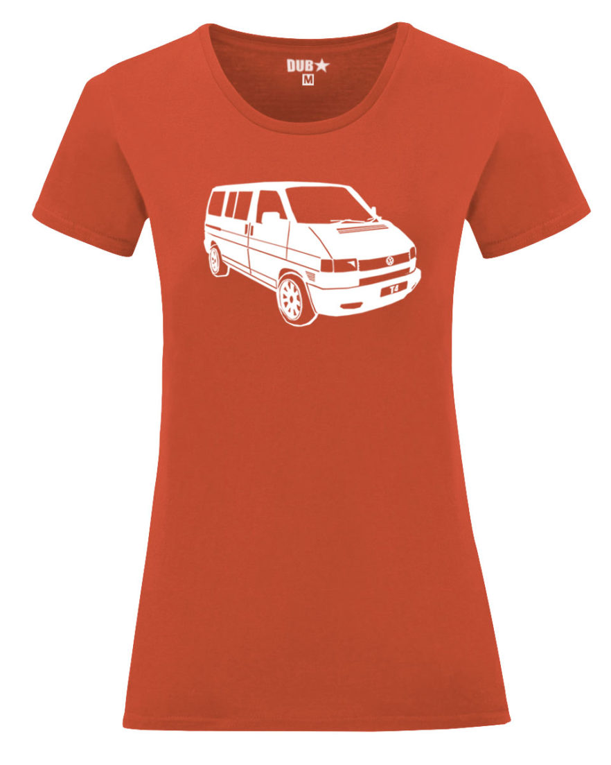 VW T4 ladyfit - flame orange