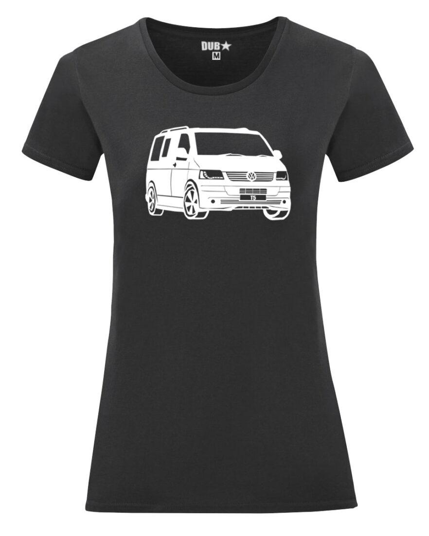 VW T5 ladyfit - black