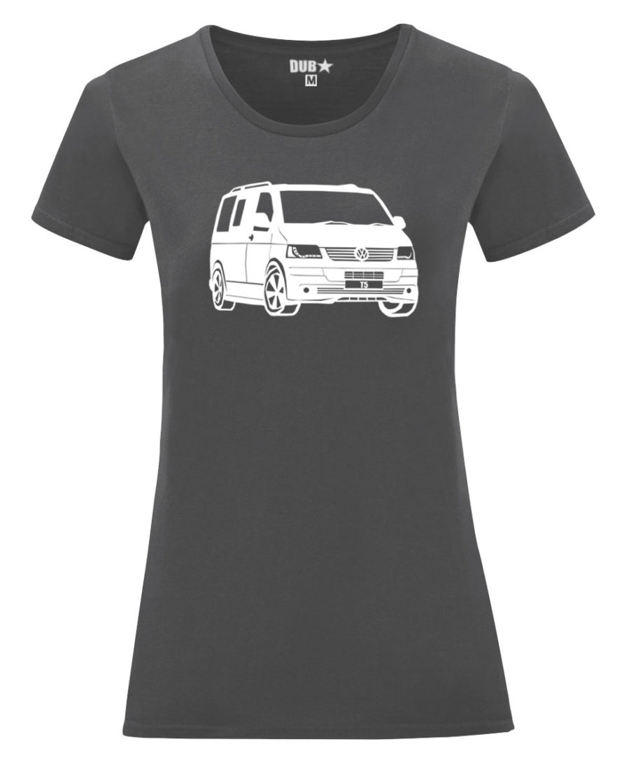 VW T5 ladyfit - charcoal