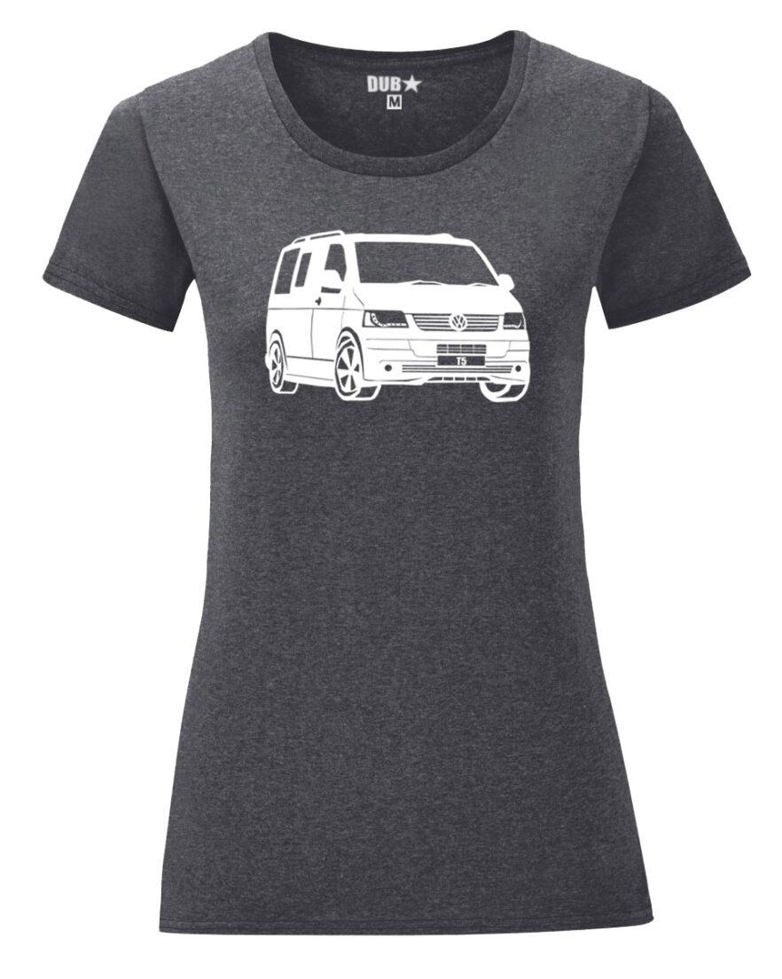 VW T5 ladyfit - dark heather