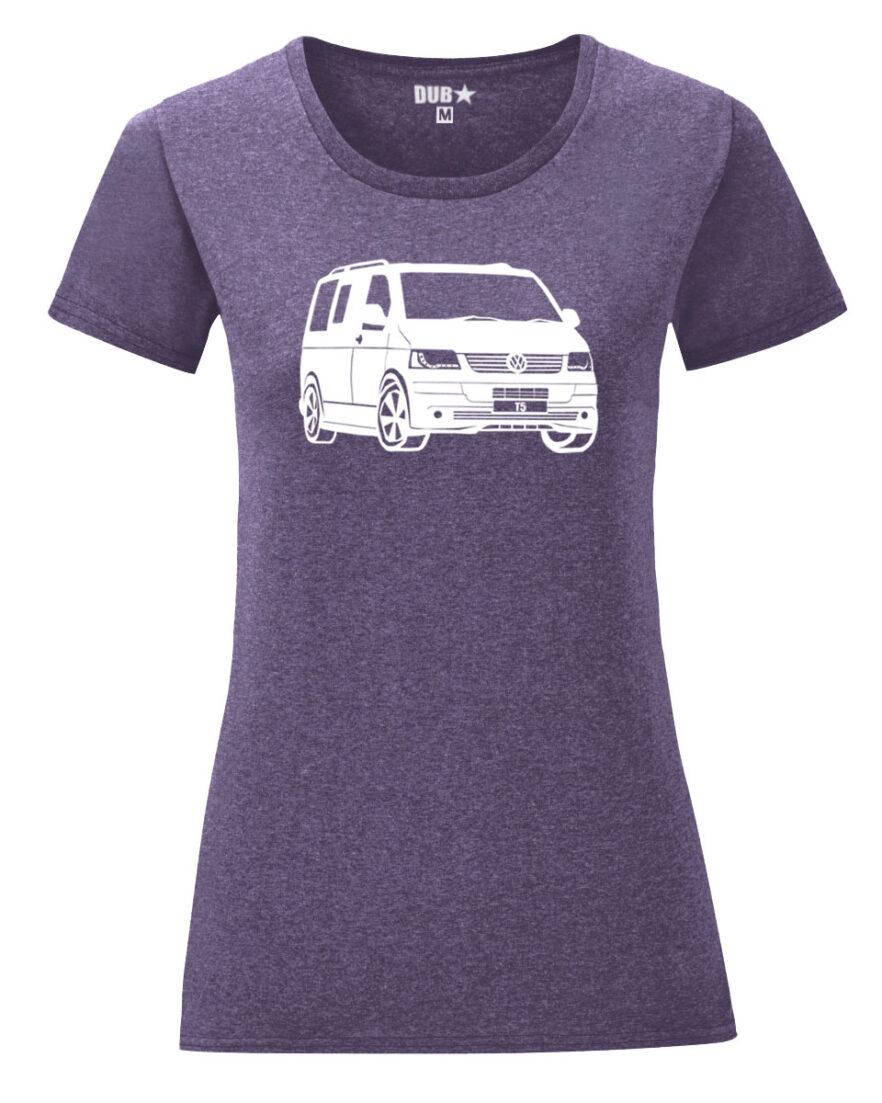 VW T5 ladyfit - heather purple