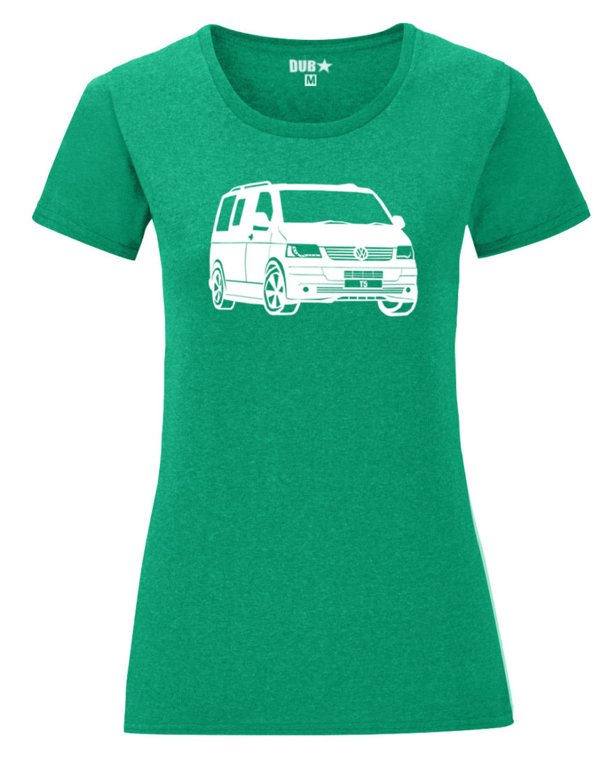 VW T5 ladyfit - heather green