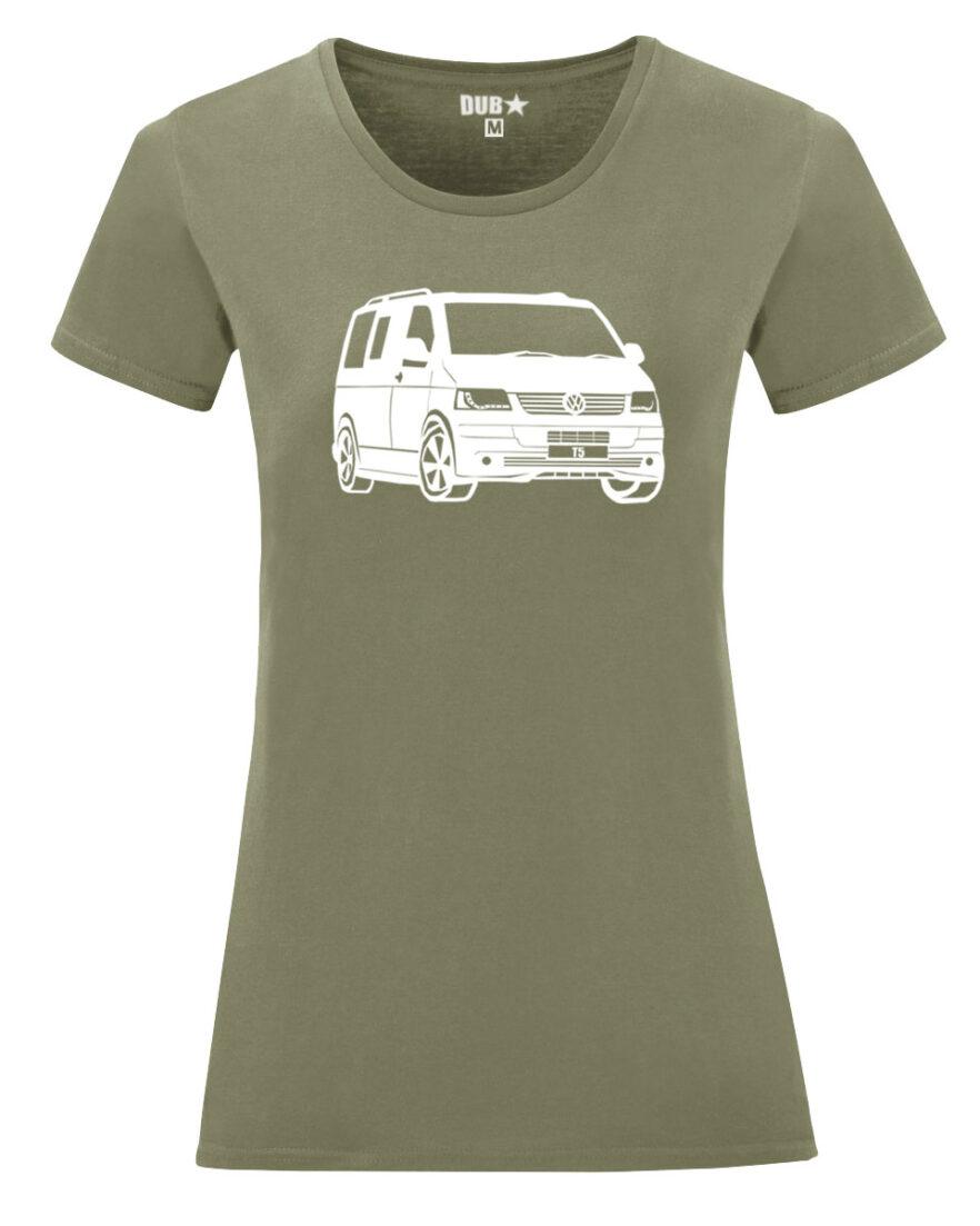 VW T5 ladyfit - army green