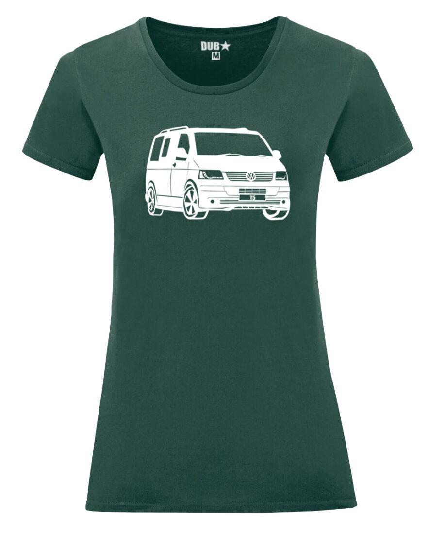 VW T5 ladyfit - dark green