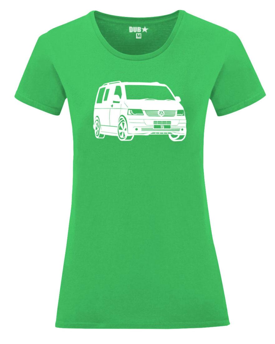 VW T5 ladyfit - green