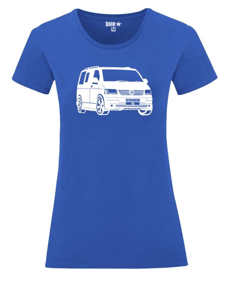 VW T5 ladyfit - royal blue