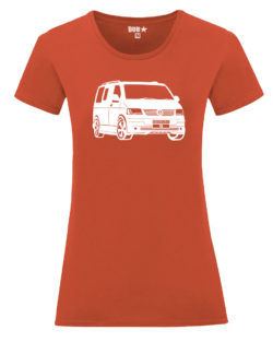 VW T5 ladyfit - flame orange