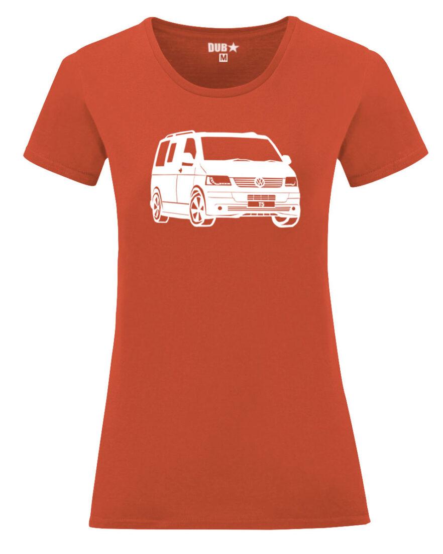 VW T5 ladyfit - flame orange