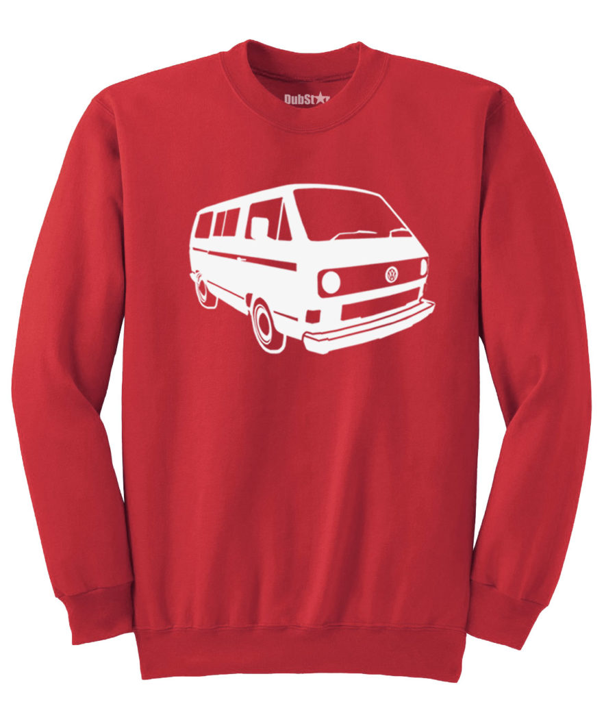 VW T3 Sweater - red
