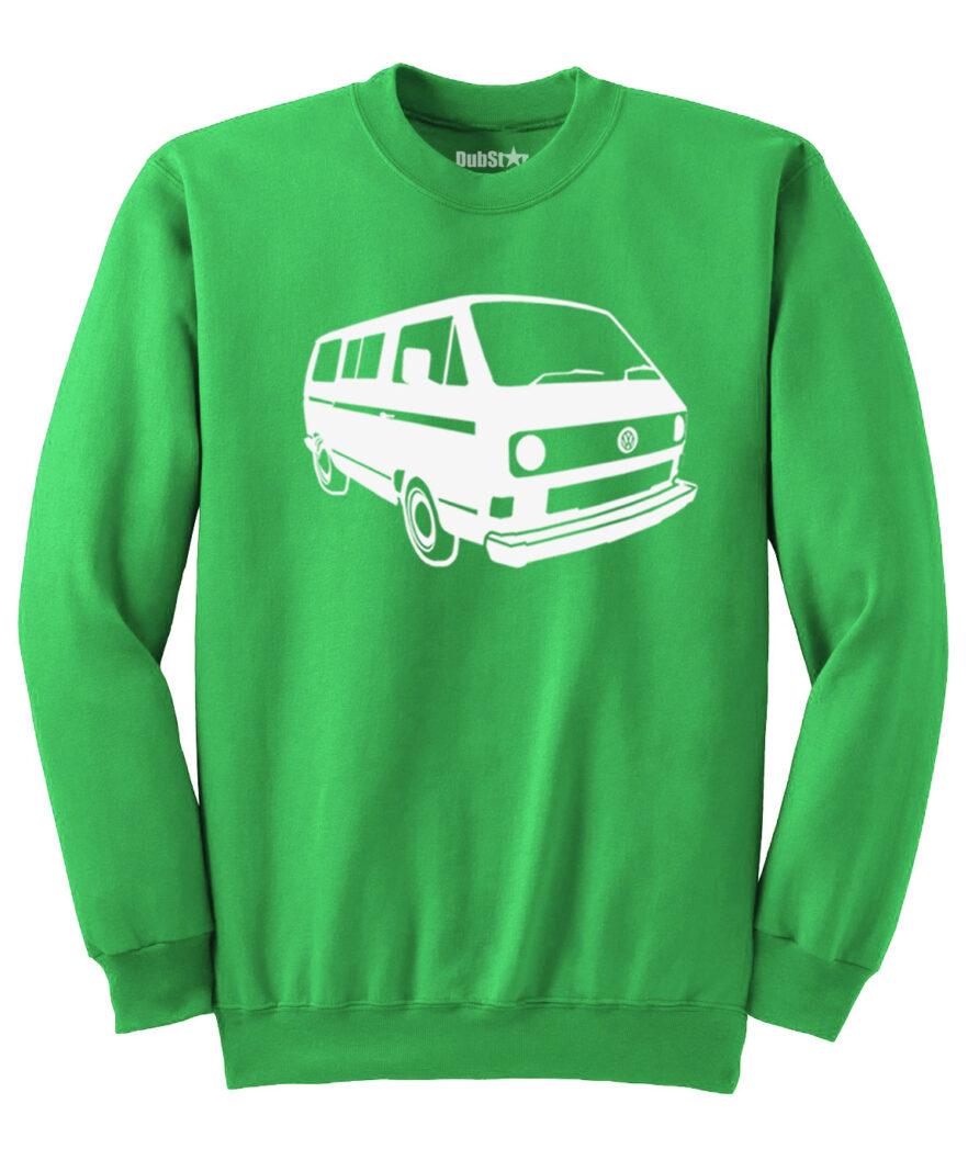VW T3 Sweater - green