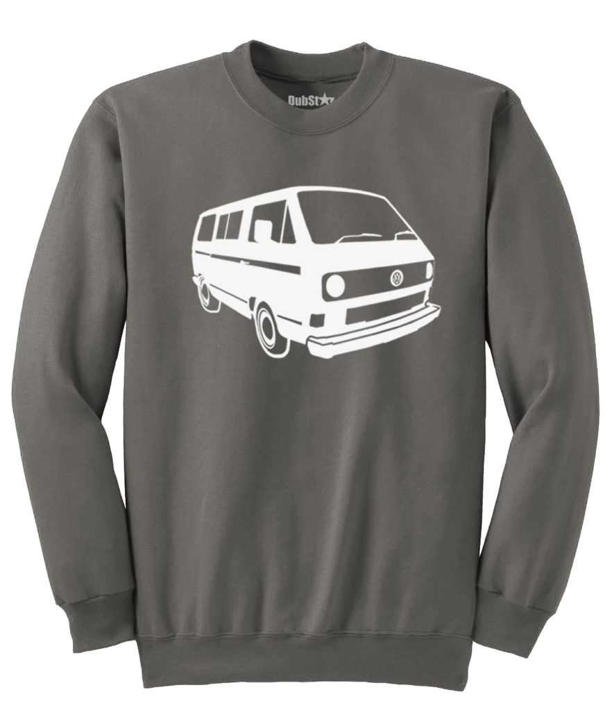 VW T3 Sweater - charcoal