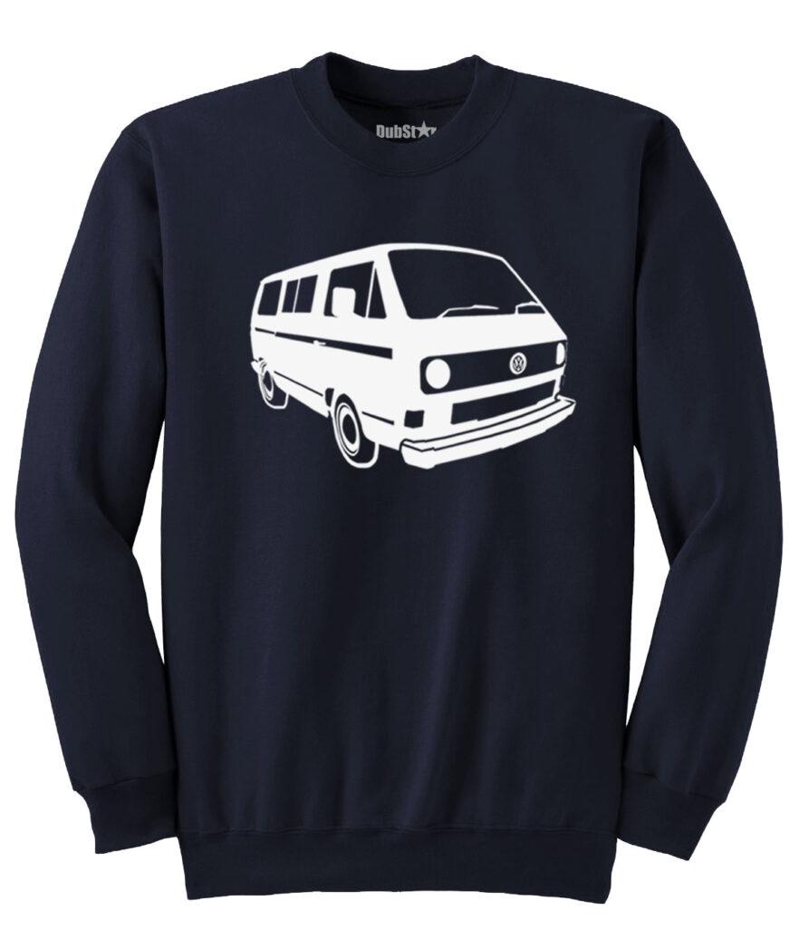 VW T3 Sweater - navy blue