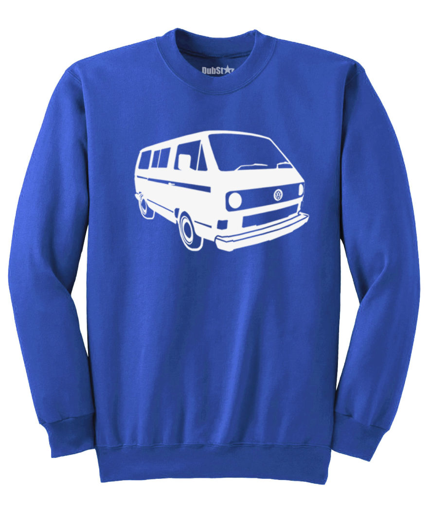 VW T3 Sweater - royal blue