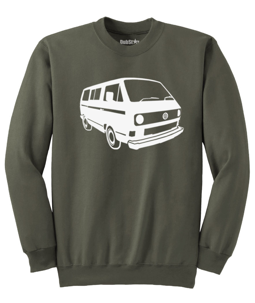 VW T3 Sweater - army green