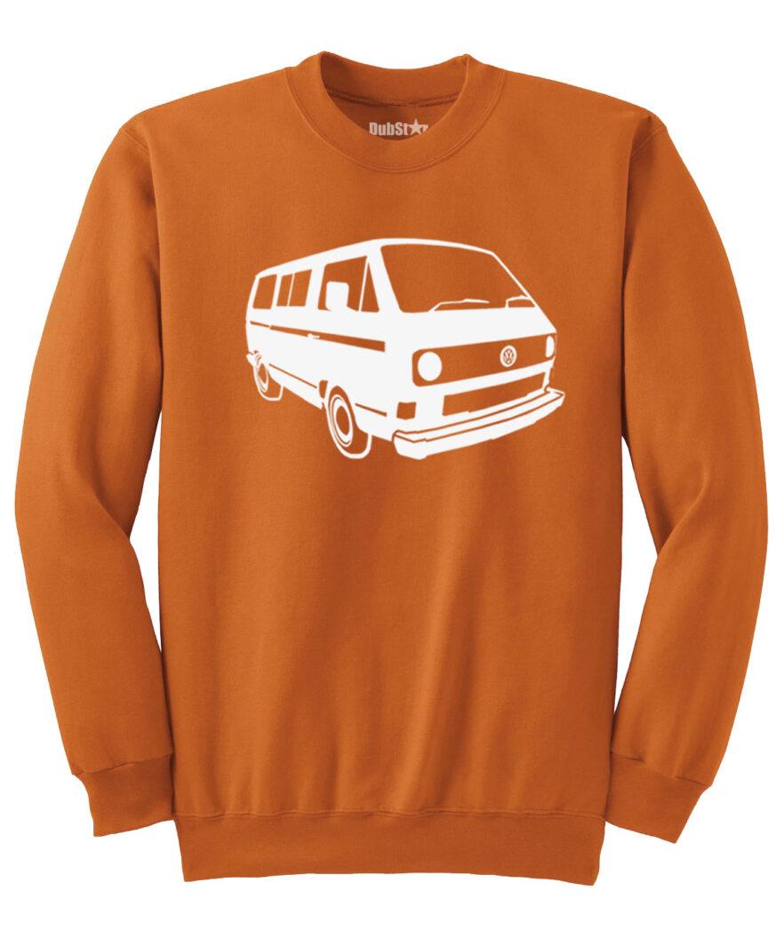 VW T3 Sweater - orange