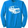 VW T3 Sweater - sapphire blue
