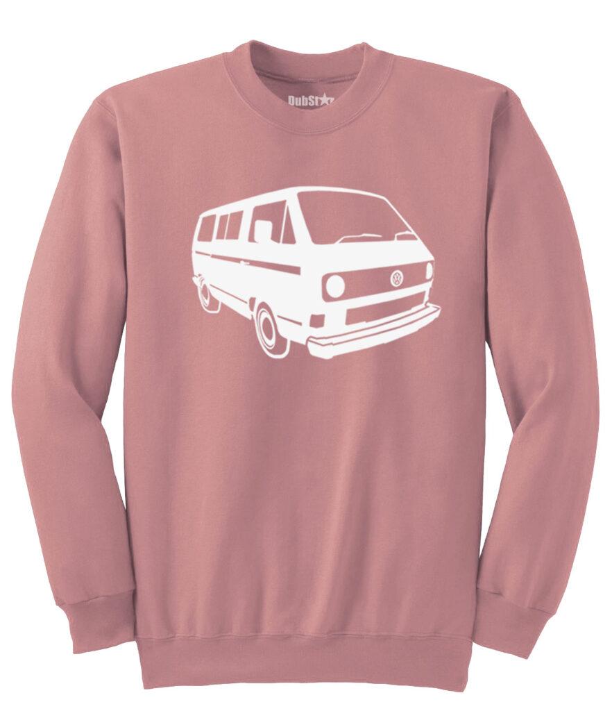 VW T3 Sweater - dusty pink