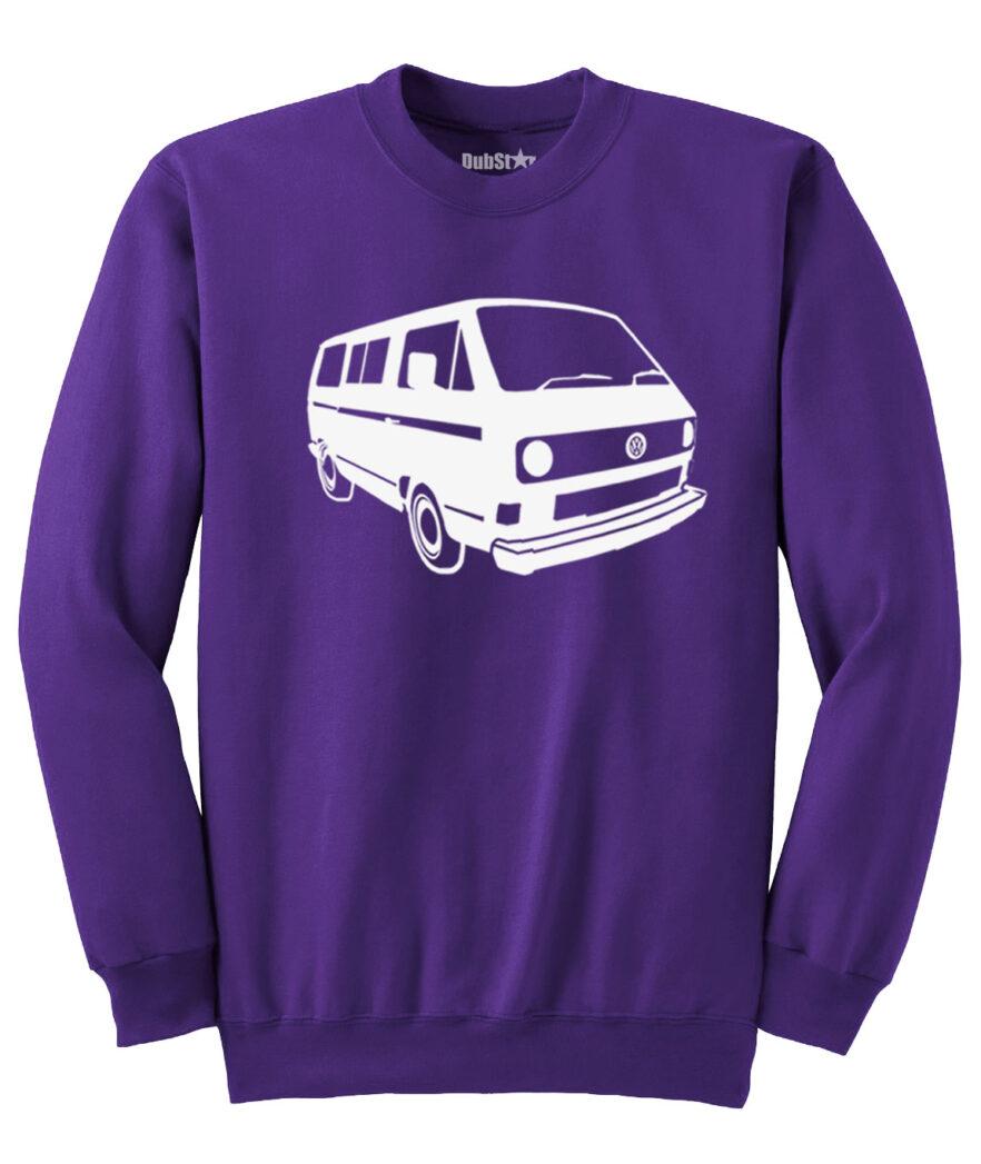 VW T3 Sweater - purple