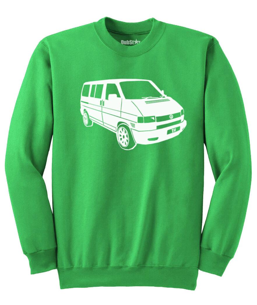 VW T4 Sweater - green