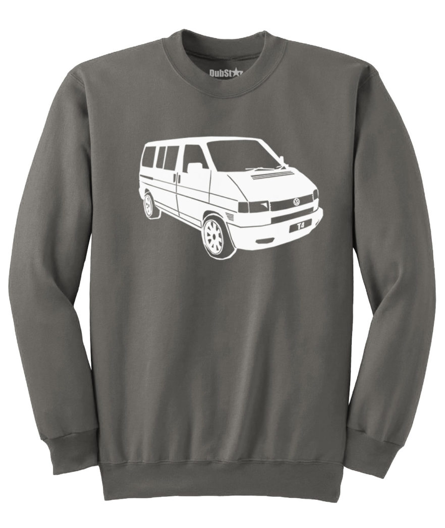 VW T4 Sweater - charcoal