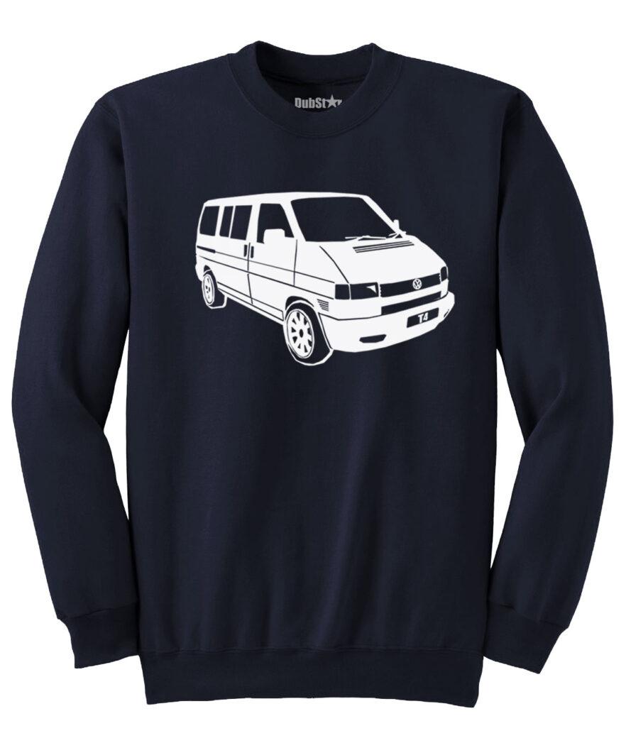 VW T4 Sweater - navy blue