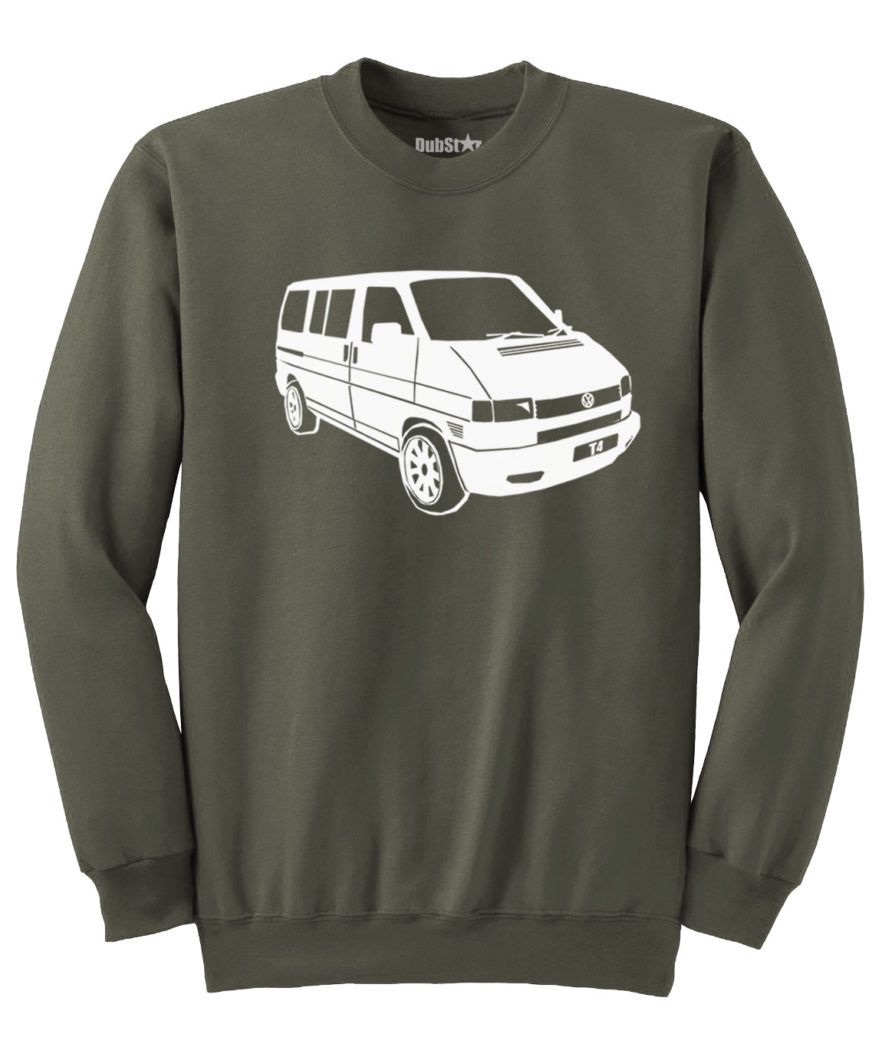 VW T4 Sweater - army green