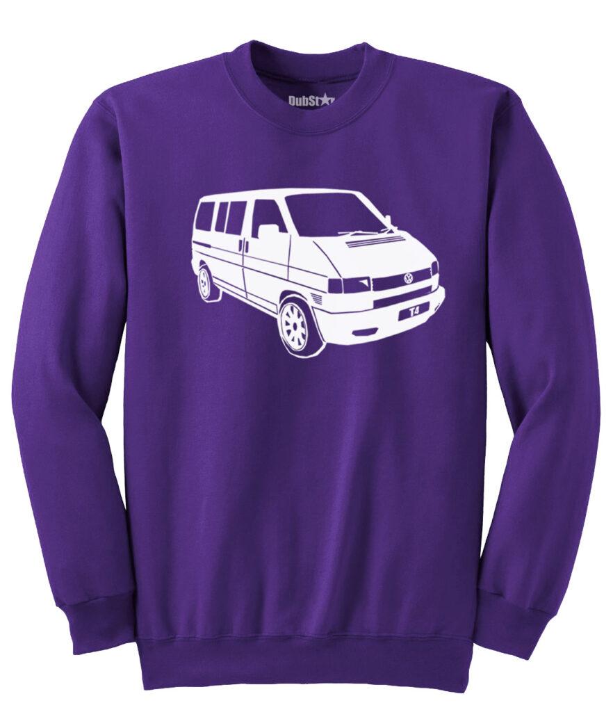 VW T4 Sweater - purple