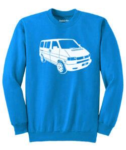 VW T4 Sweater - sapphire blue