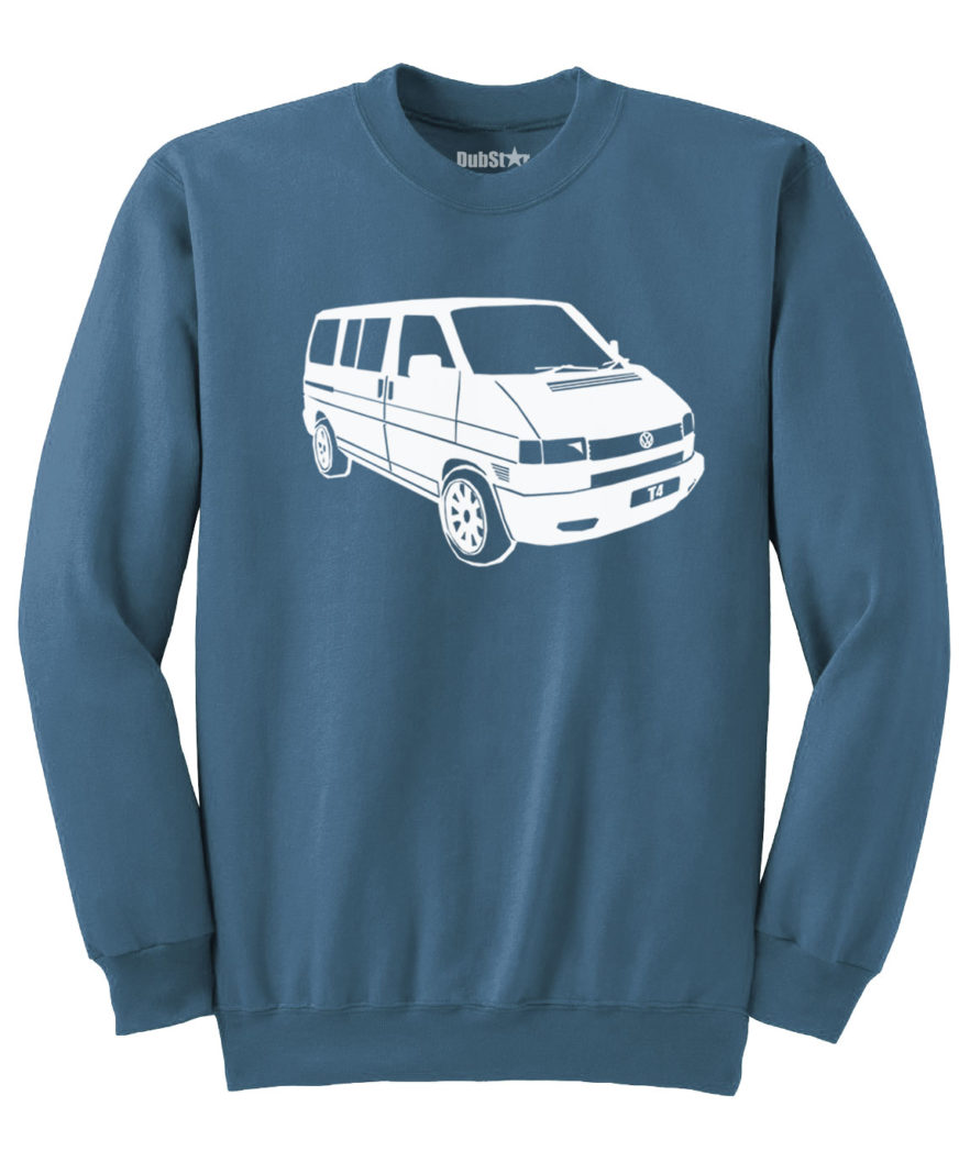 VW T4 Sweater - indigo blue
